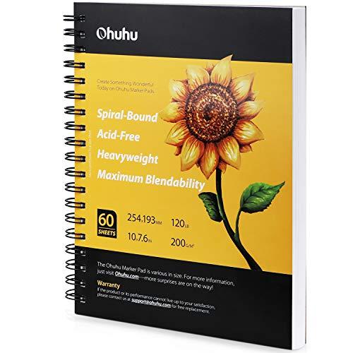 Ohuhu Marker Pads Art Sketchbook, 7.6