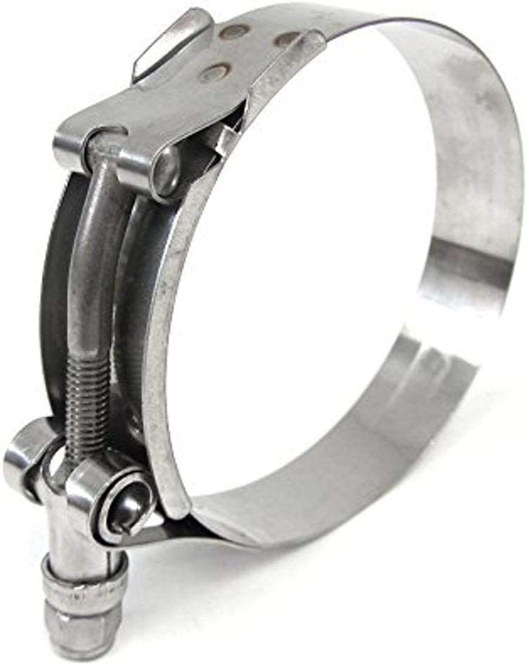 HPS shopping Stainless Steel T-Bolt Hose Soldering Clamp Size ID fit hose 76 3