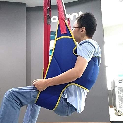 51p3W5HrUUL - CARLAMPCR Eslinga de Inodoro Elevador de Pacientes,Equipo de elevación médica,Honda de Pierna Dividida con Abertura para Inodoro para Enfermería