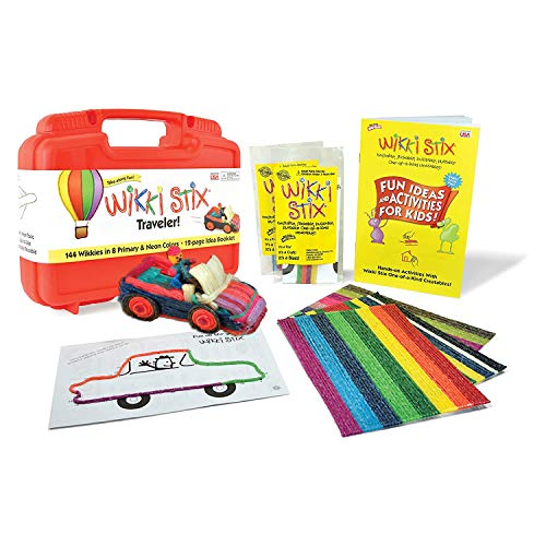 Arts and Crafts for Kids, Scrapbooking Kit, Non-Toxic, Waxed Yarn, Fidget Toy, Reusable Molding and Sculpting Playset, American Made by Wikki Stix, 24 pack