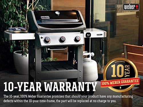 Weber 45010001 Spirit II E-310 3-Burner LP Gas Grill, Black