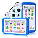 Kids Tablet 7 inch Android 10.0 - Kids for Tablet with Case - Quad Core - RAM 1GB | 16GB ROM - Kids Edition Tablets JUSYEA J3-3000mAh Battery | WiFi | Bluetooth, Entertainment | Education (Blue)
