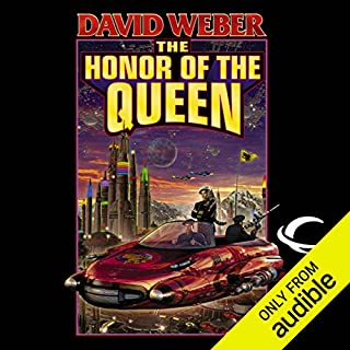 The Honor of the Queen     Honor Harrington, Book 2              Written by:                                                                                                                                 David Weber                               Narrated by:                                                                                                                                 Allyson Johnson                      Length: 16 hrs and 12 mins     11 ratings     Overall 4.6