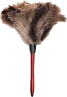 Tiamu Plumero de Limpieza de Avestruz Plumero de Avestruz Plumero de Avestruz Plumero Suave Plumero de Los Muebles a Las Aspas del Ventilador