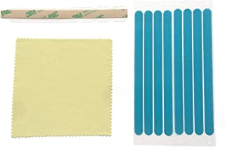 Privacy Screen Adhesive Strips and Slide Mount Tabs for Computer Monitors and Laptops - Replacement Kits.