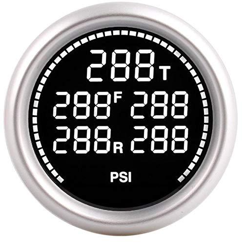 Bar PSI Manómetro de aire Suspensión Air Ride manómetro 1 / 8NPT...