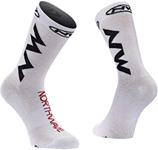 Summer Men's Cycling Sport Socks Bike Riding Socks Breathable Outdoor Running Socks Sports Sock Fit For 40-45