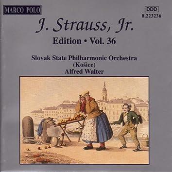 STRAUSS II, J.: Edition - Vol. 36