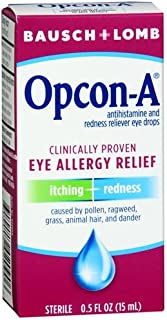 Opcon-A Itching & Redness Reliever Eye Drops 0.5 fl