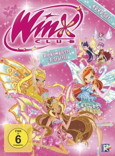Winx Club - Die komplette 3. Staffel [4 DVDs]