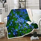 NBVGHJ Haifisch-Decken Für Bett Benutzerdefinierte Decke Marine Tier Plüschdecke Ozeanblau Tagesdecken 200×150CM
