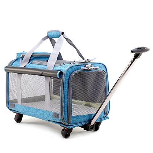 Pet Carrier Stroller,Soft-Sided Pet Travel Carrier