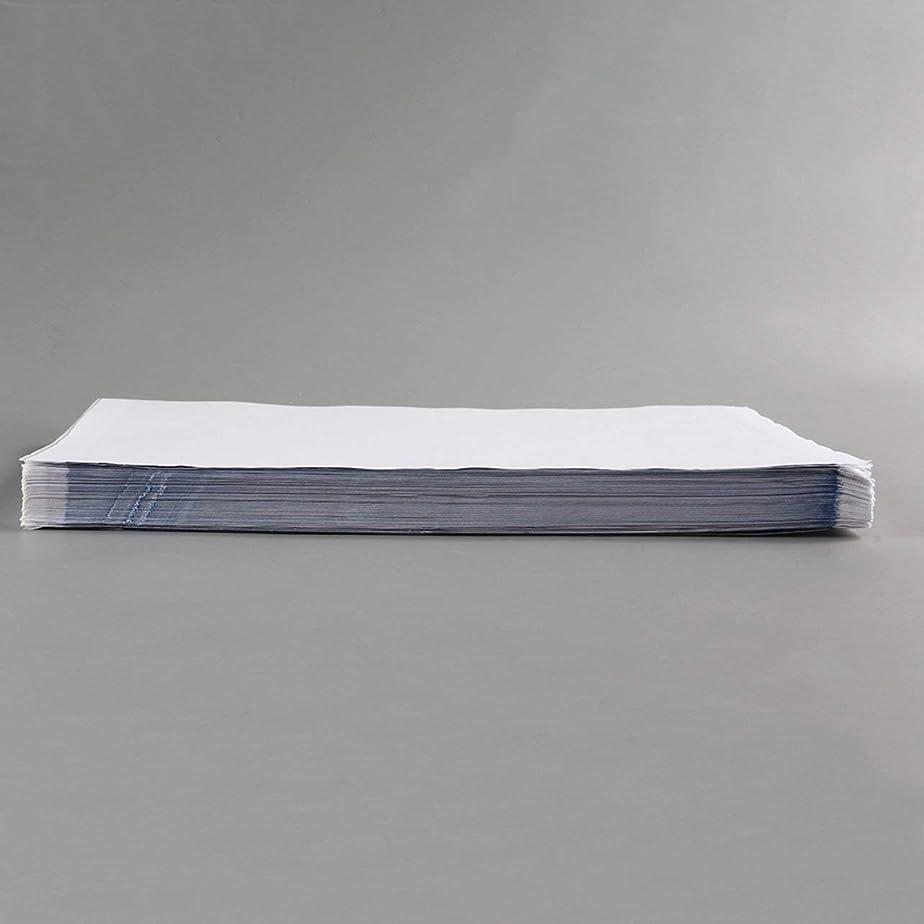 ボルトうまくいけば俳句DeeploveUU 100ピースa4タトゥーステンシル転写紙タトゥー熱ステンシル転写熱ステンシルカーボン紙供給白+グリーンZY003