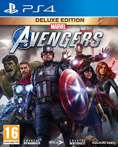 Marvel's Avengers Deluxe Edition (inkl. kostenloses Upgrade auf PS5) (PS4) (PEGI-AT)