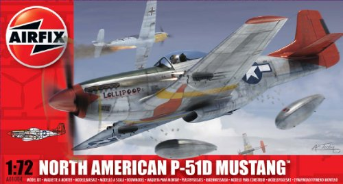 Airfx - AI01004 - Figurine - North American P-51D Mustang