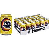 24 latas de Vitamalz 0.33 l latas sin alcohol