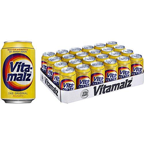 Vitamalz, 24er Pack, (24 x 330 ml) inc. 6.00€ EINWEG Pfand