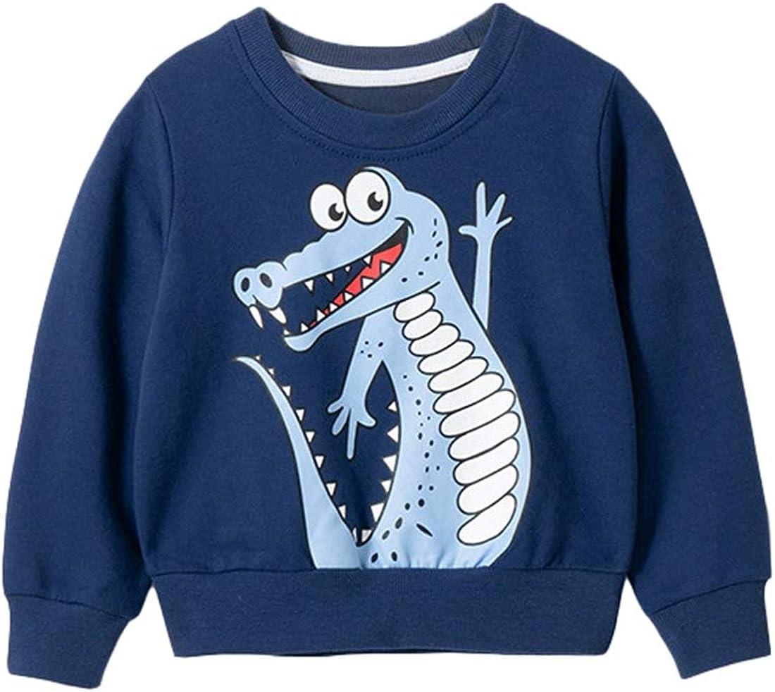 Qiribati Kinderlangh/ülse Sweatshirt 4-8 Jahre Pullover mit Rundhalsausschnitt Spitzenhemd Kinder Spitzen