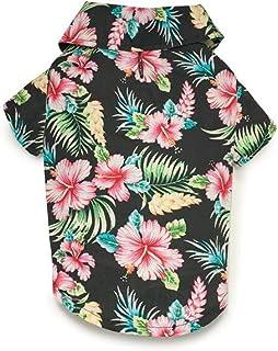 قميص تخييم بنسيم هاواي للكلاب من كاجوال كانين، مقاس كبير