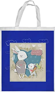 love you mom Printed Shopping bag, Medium Size