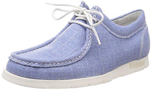 Sioux Damen Grash-d172-29 Sneaker, Blau (Jeans-Silver), 40.5 EU (7 UK)