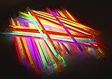 molinoRC   50 Knicklichter   50x Leuchtstäbe   Armreifen   Glowstick   Partylichter   Neon rot gelb grün pink orange blau   Premium Lichter, leuchten ewig   📦   🇩🇪   ✅   😊  🥇   Expressversand - 9