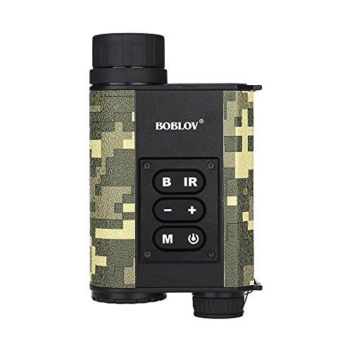 Boblov 200M IR Nachtsichtgerät 500M Entfernungsmesser 6x32 Nebel Modus Optical Zoom Multifunction Infrared Rangefinder Hunting Outdoor
