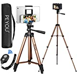 PEYOU Compatible for Ipad iPhone Tripod, 50 Inch Extendable Lightweight Aluminum...