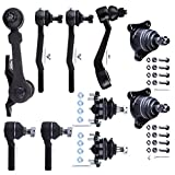 Scitoo 10Pc Suspension Kits Front Ball Joints Tie Rod End Pitman Idler Arms Complete Kit fit 1992-1995 Toyota Pickup 4WD
