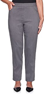 Alfred Dunner womens Petite Proportioned Medium Allure Slim Pant Pants