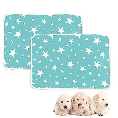 Trainingsmatte für Hunde, Hygieneunterlagen für Haustiere,waschbar, schnelle Aufnahme von Urin, wiederverwendbar, 50 x 70 cm