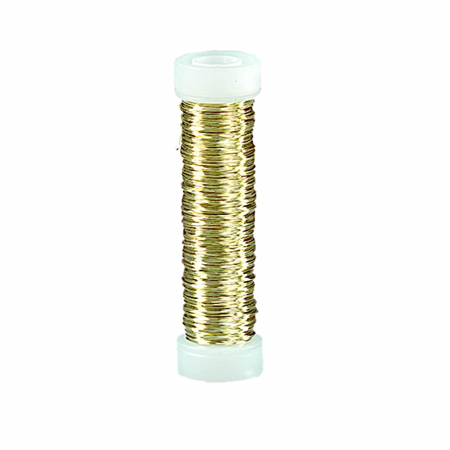 Efco 0.3 mm x 25 m Coloured Copper Wire, Brass