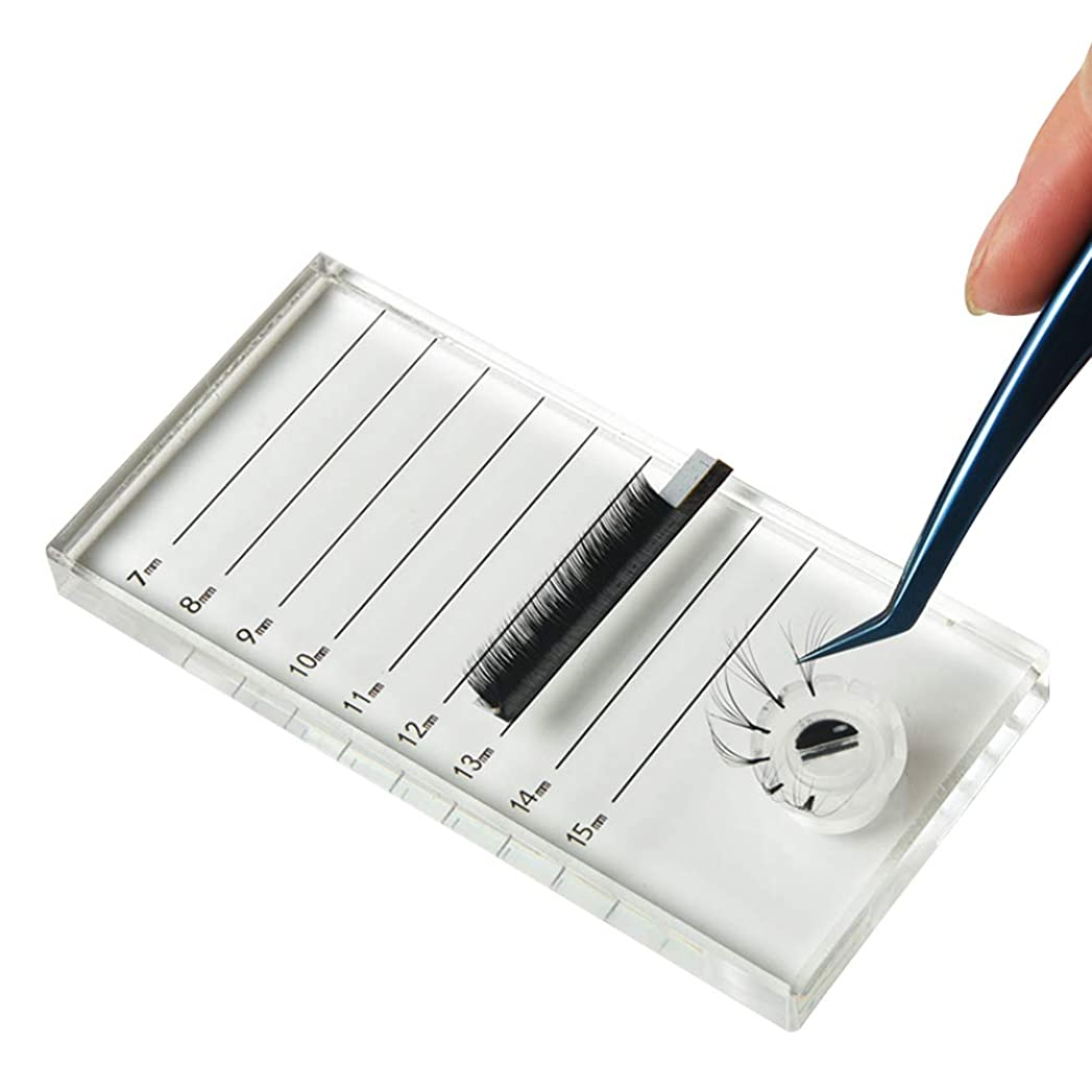 最大化するケント毎回Lurrose ボリュームまつげエクステンショングループレートまつげパッド作りラッシングファングルーホルダーセット用品ツール