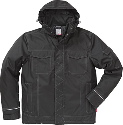 Fristads 113080 Winterjacke Kansas Workwear Gr. L, Schwarz