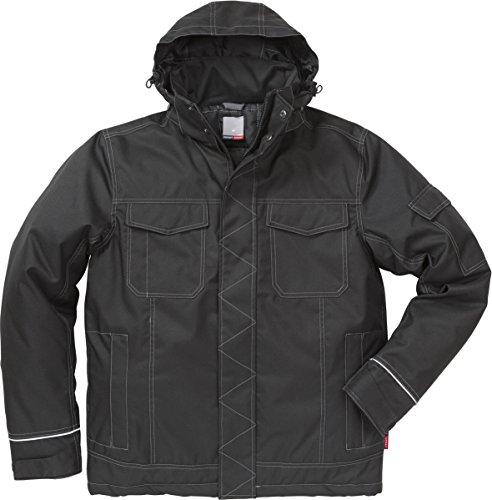 Fristads 113080 Winterjacke Kansas Workwear Gr. XS, Schwarz