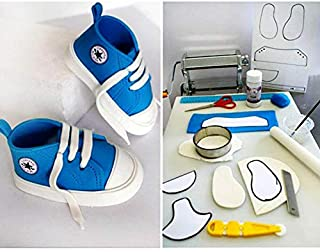 Cake Molds - Cut Sneaker Biscuits Mould Silicone Baby Shoes Shape Gadgets Cake Fondant Mold 1 Set Decorating - Round Inch Star Nordicware Set Cartoon Mousse Rectangle By Lace