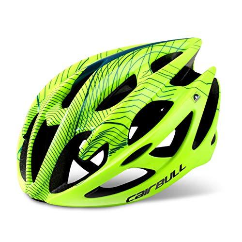 Casco Bici Adulto, Casco da Mountain bicicletta, Casco da Ciclismo per Bici da Corsa All'aperto Sicurezza Sportiva(M, L)