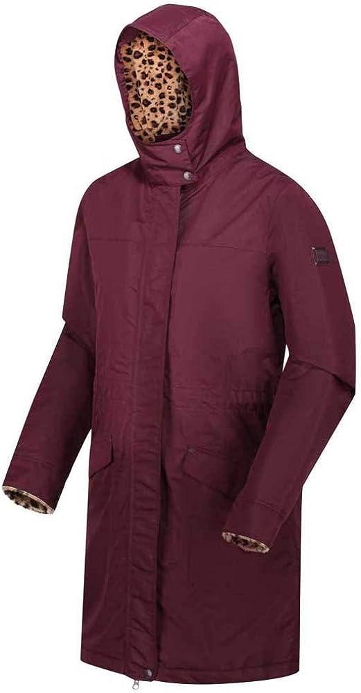 Regatta Rimona Veste /À Capuche Femme Imperm/éable et Isolante avec Coutures Cousues-coll/ées Jackets Waterproof Insulated Femme