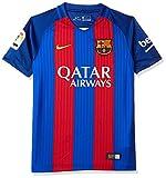 Nike FC Barcelona Yth Ss Hm Stadium Jsy, Camiseta de manga corta para niño, Azul (Sport Royal / Gym Red / University Gold), S