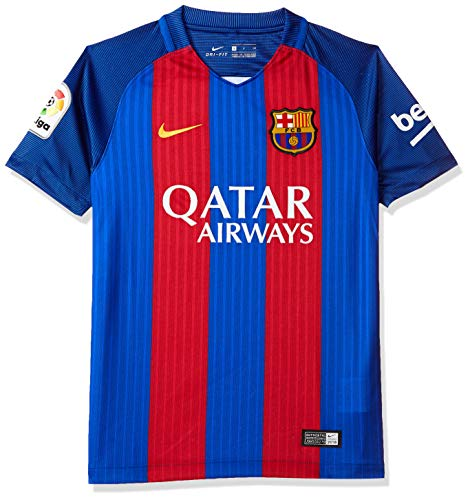Nike Youth Soccer Barcelona Home Jersey (Youth Large)