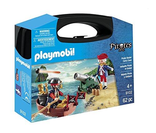 Playmobil Maletín Grande Pirata y Soldado 9102