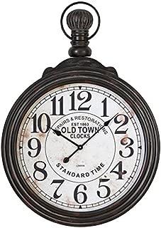 Deco 79 52107 Wood Wall Clock, 39