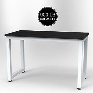 Dripex bureau computertafel, pc-tafel voor bureau, werktafel, officetafel, stabiele constructie tafel