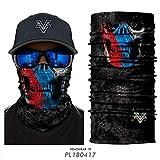 Vcoros Monster Skull Cycling Motorcycle Half & Full Face Mask Riding Magic Headwear (PL180417)