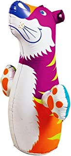 (Ship from USA) 3D Bop Bag Pink Tiger - Inflatable Blow Up Punching Bag Toy,Gift, For Kids Fun -ITEM#: G15/uiF982A2937