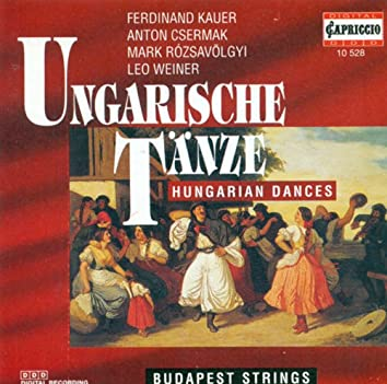 Orchestral Music (Hungarian) - Kauer, F. / Csermak, A. / Rozsavolgyi, M. / Weiner, L. (Hungarian Dances)