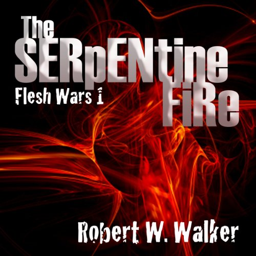 The Serpentine Fire audiobook cover art