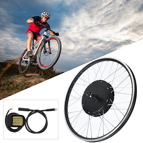 Yencoly Rueda de Bicicleta eléctrica, 48V 1000W 20inch KT-LCD5 Display Instrument Wheel...