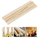 Sgoot - Bastoncini per diffusore di oli essenziali, in rattan naturale, ricambio per aromi, 30 cm, confezione da 110 pezzi