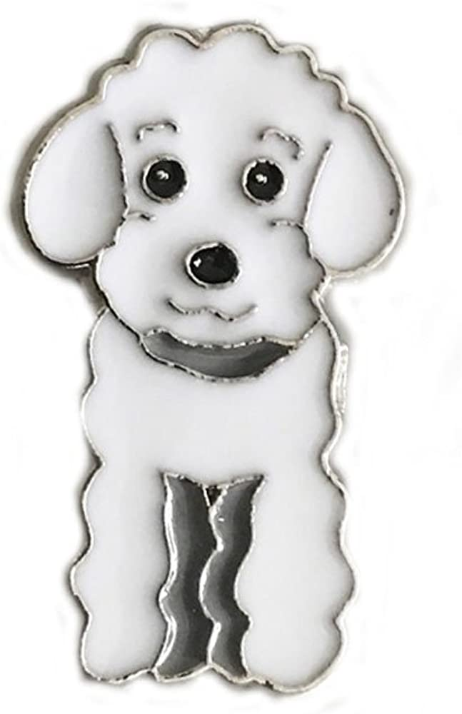 Pet Dog Brooch, Cute Husky,Tidy, Pug, Corsage Jewelry Metal Pin Badge Dog ID Tags Christmas Birthday Gift 2PCS